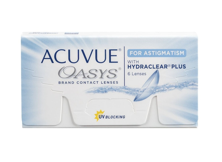 Acuvue Oasys with Hydraclear Plus (Toric for astigmatism)