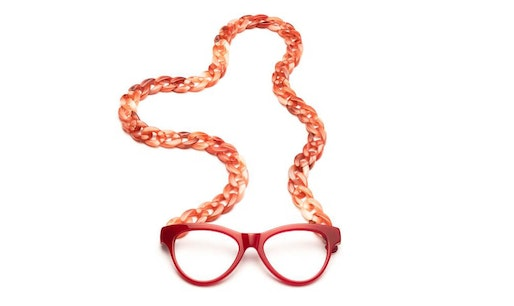 Joen - Red Necklace Reading Glasses Red +2.50
