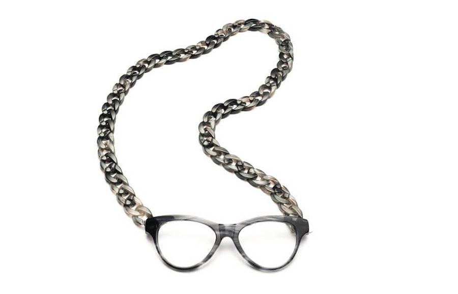 CotiVision Joen - Grey Necklace Reading Glasses Grey +1.50