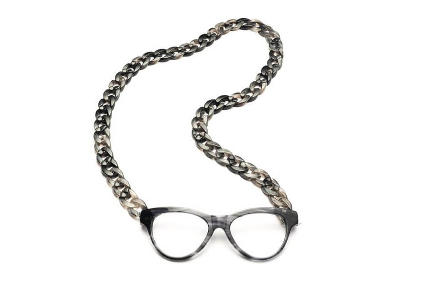 CotiVision Joen - Grey Necklace Reading Glasses Grey +2.50