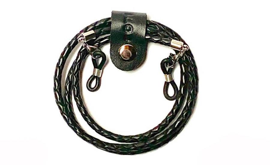 CotiVision Elements Bolo Leather Glasses Cord Black