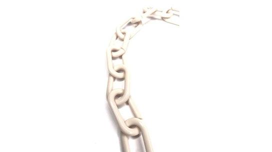 Cuore Glasses Chain Cream