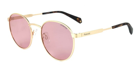 Round Pop PLD 2053/S Unisex Sunglasses Pink / Pink