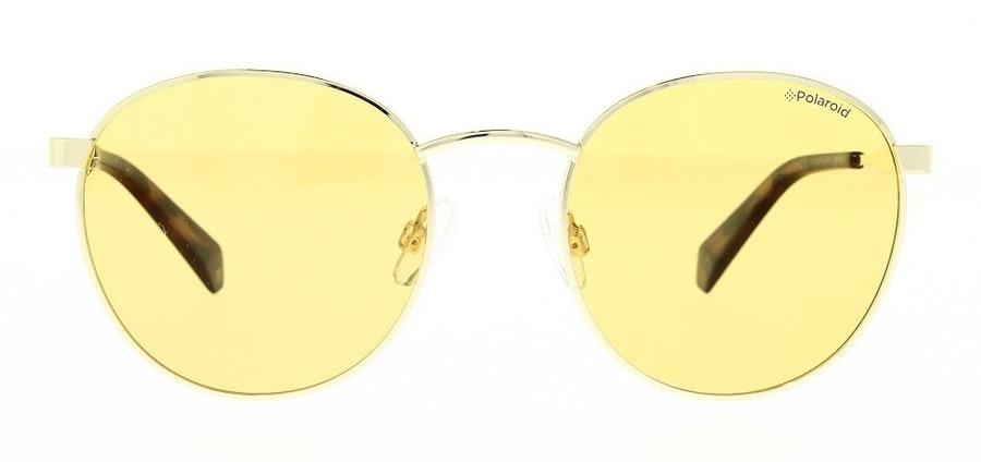 Polaroid Round Pop PLD 2053/S Unisex Sunglasses Gold / Gold