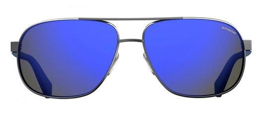 PLD 2059/S Men's Sunglasses Grey / Silver