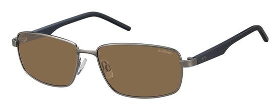 PLD 2041/S Men's Sunglasses Brown / Grey
