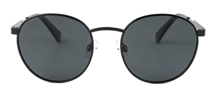 Polaroid Round Pop PLD 2053/S (807) Sunglasses Grey / Black
