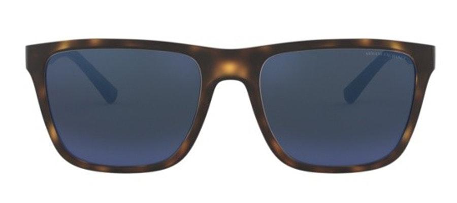 Armani Exchange AX 4080S (802980) Sunglasses Blue / Tortoise Shell