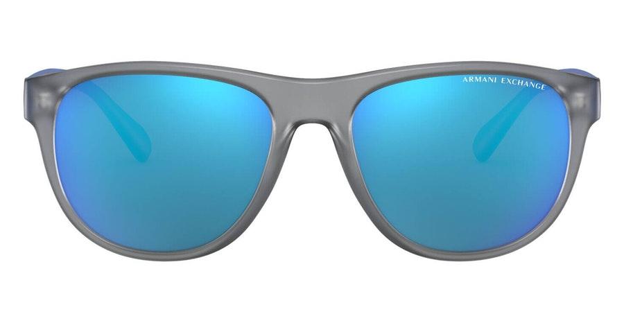 Armani Exchange AX 4096S (831025) Sunglasses Blue / Grey