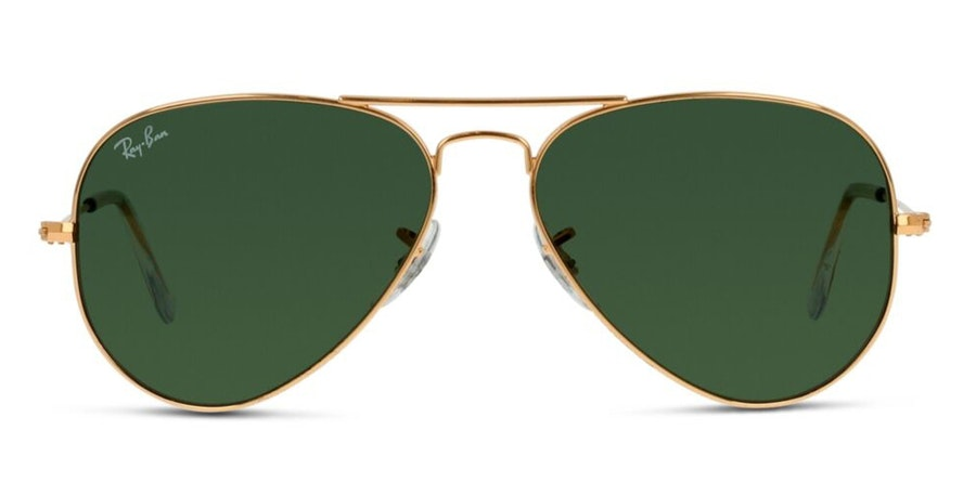 Ray-Ban Aviator (55mm) RB 3025 Men's Sunglasses Grey / Gold