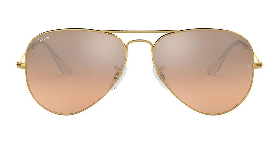 Ray-Ban Aviator RB 3025 (001/3E) Sunglasses Pink / Gold