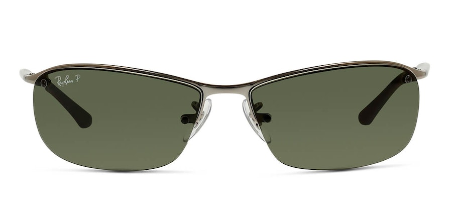 Ray-Ban RB 3183 (004/9A) Sunglasses Green / Silver