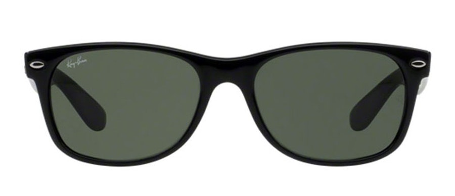 Ray-Ban New Wayfarer Classic RB 2132 (901L) Sunglasses Green / Black