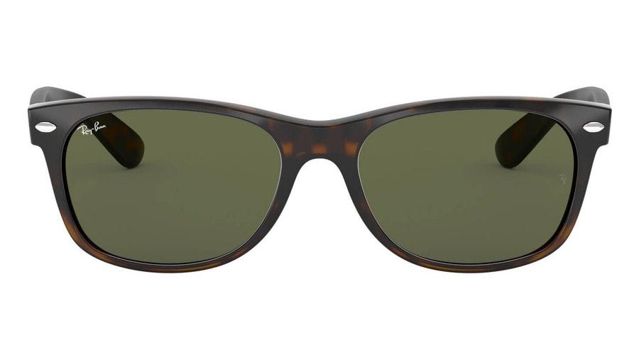 Ray-Ban New Wayfarer RB 2132 Men's Sunglasses Green / Tortoise Shell