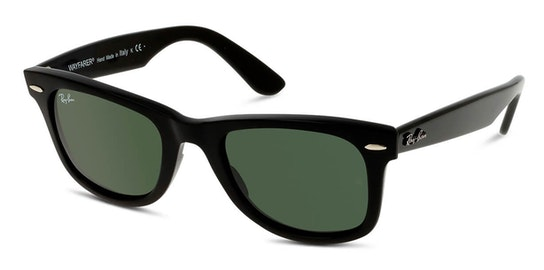 Wayfarer RB 2140 Unisex Sunglasses Green / Black