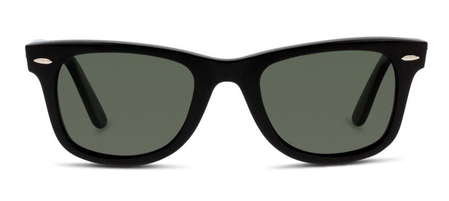 Ray-Ban Wayfarer RB 2140 (901/58) Sunglasses Green / Black