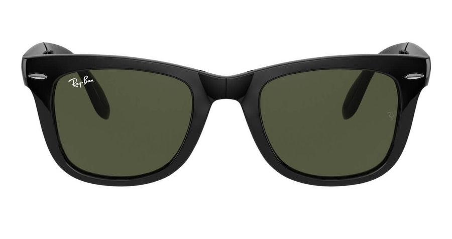 Ray-Ban Folding Wayfarer RB 4105 Men's Sunglasses Green/Black