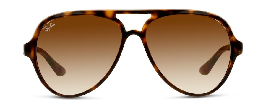 Ray-Ban Cats 5000 RB 4125 Men's Sunglasses Brown / Tortoise Shell