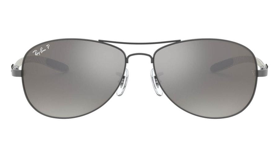 Ray-Ban RB 8301 Men's Sunglasses Silver / Grey