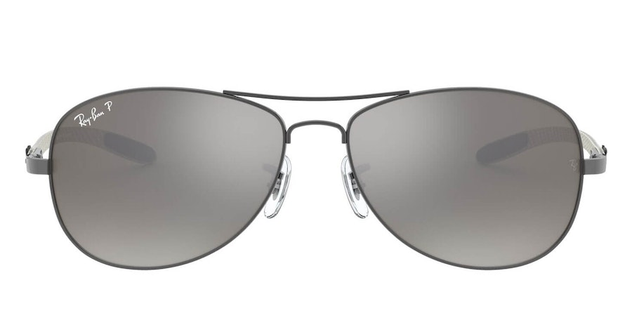 Ray-Ban RB 8301 Men's Sunglasses Silver/Grey