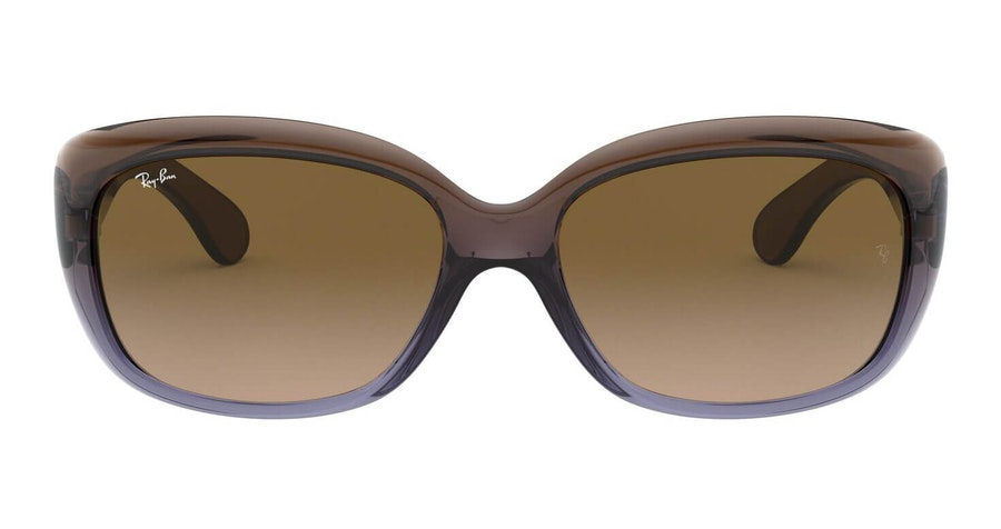 Ray-Ban Jackie Ohh RB 4101 Women's Sunglasses Brown/Brown