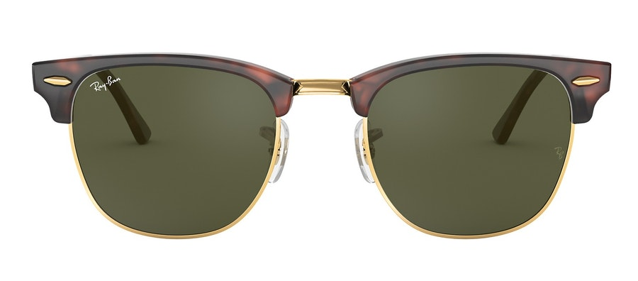 Ray-Ban Clubmaster RB 3016 (W0366) Sunglasses Brown / Tortoise Shell