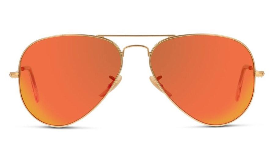 Ray-Ban Aviator RB 3025 Men's Sunglasses Orange / Gold