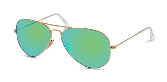 Aviator RB 3025 Men's Sunglasses Green / Gold