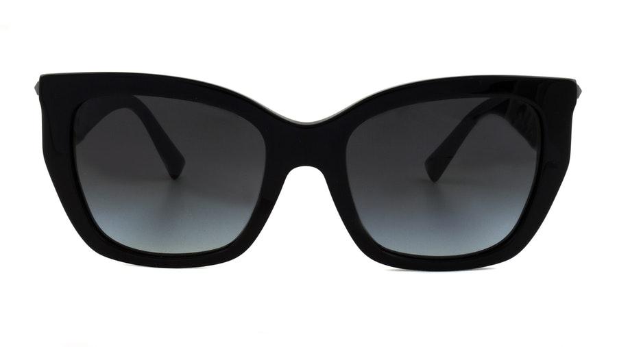 Valentino VA 4048 (50018G) Sunglasses Grey / Black