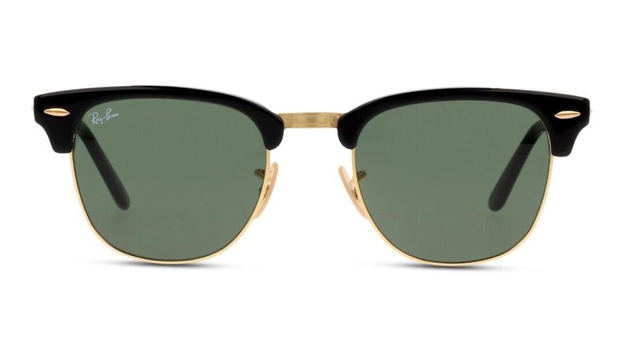 Ray-Ban Clubmaster Folding RB 2176 Men's Sunglasses Green/Black