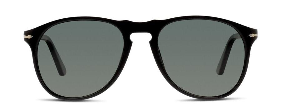 Persol PO 9649S (95/58) Sunglasses Green / Black