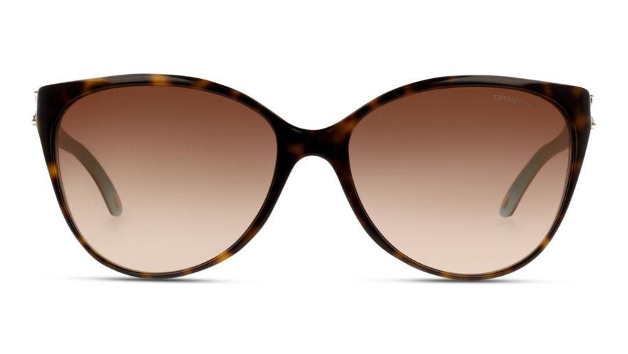 Tiffany & Co TF 4089B (81343B) Sunglasses Brown / Tortoise Shell