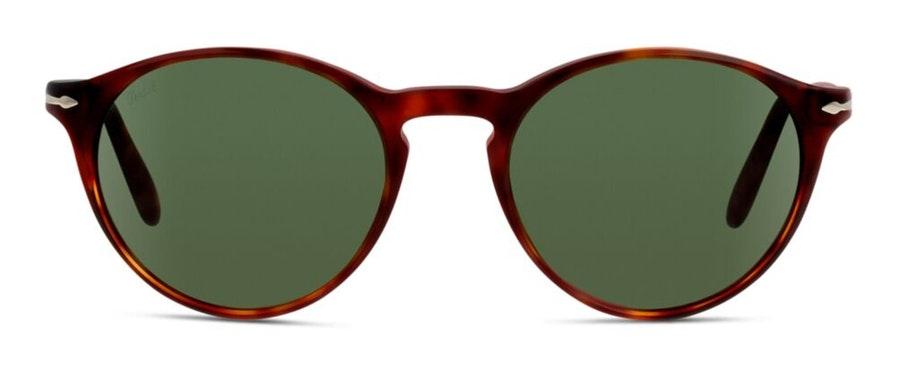 Persol PO 3092S Women's Sunglasses Green / Tortoise Shell
