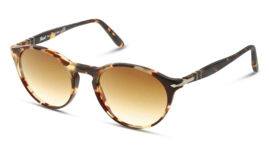 PO 3092S Women's Sunglasses Brown / Tortoise Shell