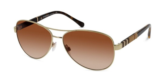 BE 3080 Women's Sunglasses Brown / Gold