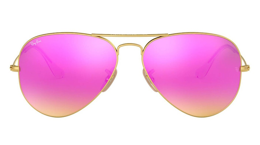 Ray-Ban Aviator RB 3025 (112/4T) Sunglasses Pink / Gold