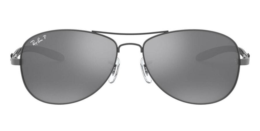 Ray-Ban RB 8301 (004/K6) Sunglasses Blue / Grey