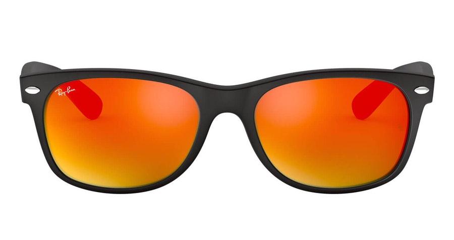 Ray-Ban New Wayfarer RB 2132 (622/69) Sunglasses Red / Black