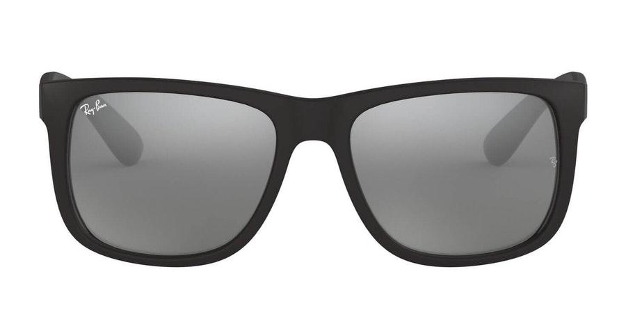 Ray-Ban Justin RB 4165 (622/6G) Sunglasses Silver / Black