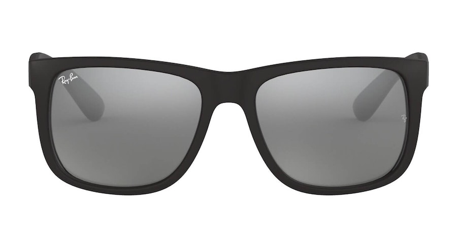 Ray-Ban Justin RB 4165 Men's Sunglasses Silver/Black