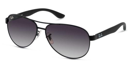 RB 3457 Unisex Sunglasses Grey / Black
