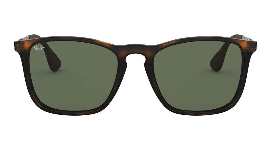 Ray-Ban Chris RB 4187 (710/71) Sunglasses Grey / Tortoise Shell