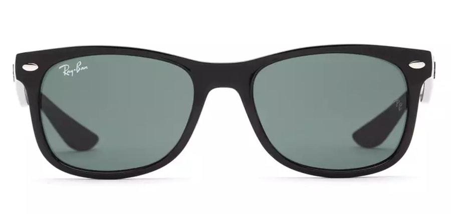 Ray-Ban Juniors RJ 9052S (100/71) Children's Sunglasses Green / Black