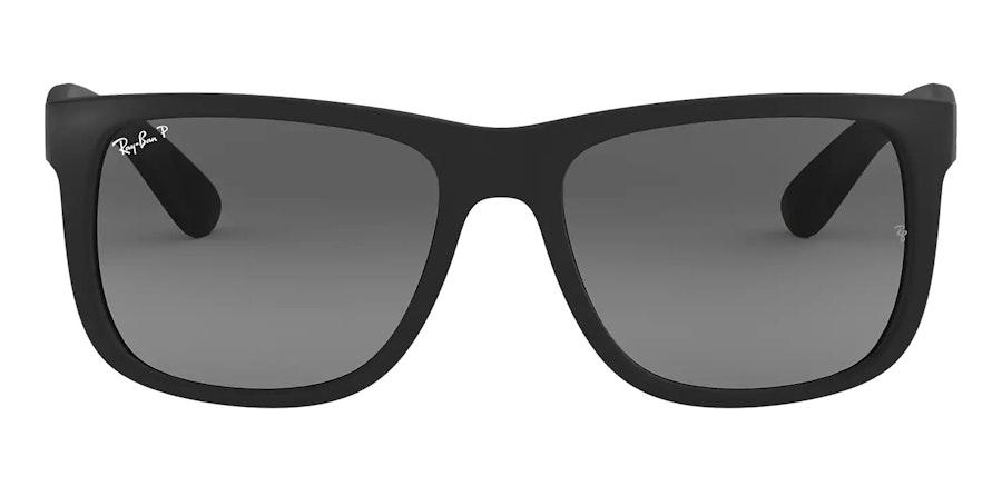 Ray-Ban Justin RB 4165 (622/T3) Sunglasses Grey / Black