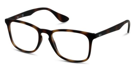RX 7074 Unisex Glasses Transparent / Tortoise Shell