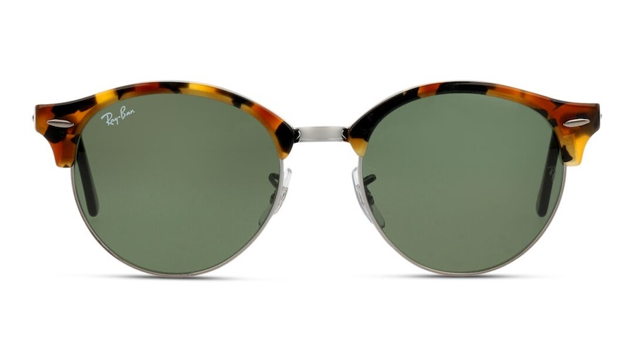 Ray-Ban Clubround RB 4246 Men's Sunglasses Green / Tortoise Shell