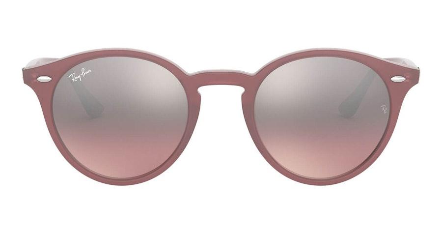 Ray-Ban RB 2180 (62297E) Sunglasses Blue / Pink