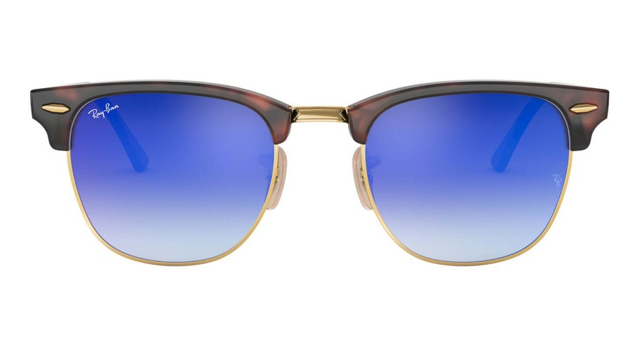 Ray-Ban Clubmaster RB 3016 (990/7Q) Sunglasses Blue / Tortoise Shell