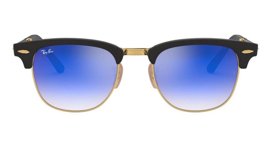 Ray-Ban Clubmaster Folding RB 2176 Men's Sunglasses Blue / Black