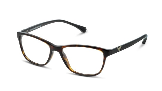 EA 3099 Women's Glasses Transparent / Tortoise Shell